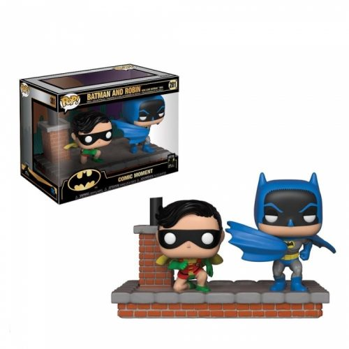 Funko POP Movie Moments DC Comics Batman 80th 1964 Batman and Robin 6