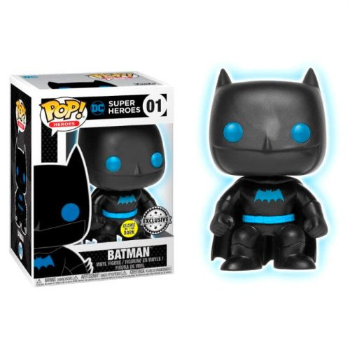Funko POP DC Comics Justice League Batman Silhouette Exclusive 3