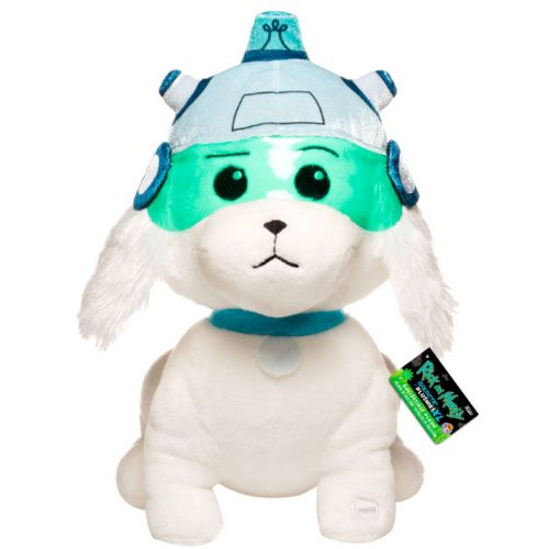 Peluche Rick & Morty Snowball with sound 30cm 12