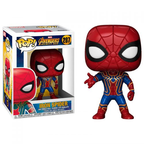 Funko POP Marvel Spiderman Vengadores Infinity War Iron Spider 7