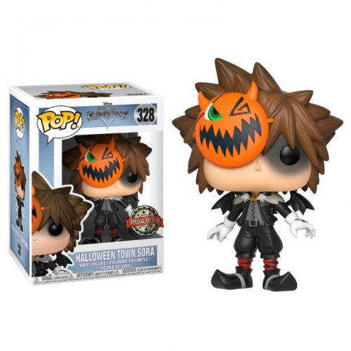 Funko POP Kingdom Hearts Halloween Town Sora Exclusivo 5