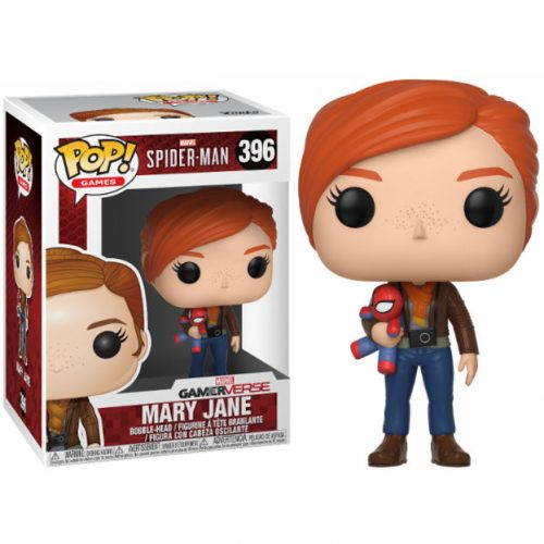 Funko POP Marvel SpiderMan Mary Jane Con Peluche 8