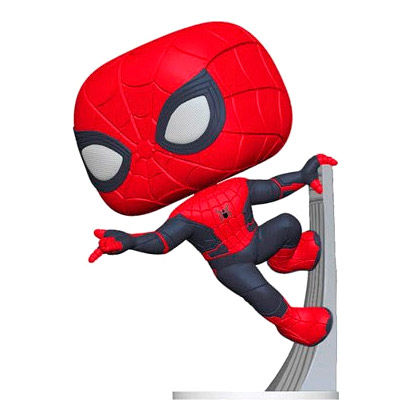 Funko POP Marvel Spiderman Far From Home Spiderman Upgraded Suit 9