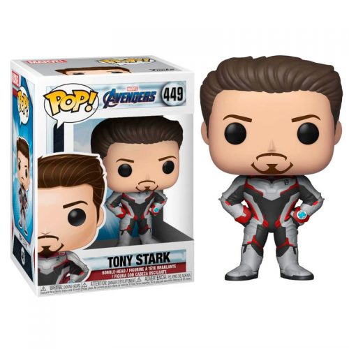 Funko POP Tony Stark -Iron Man- Marvel Vengadores Endgame 9