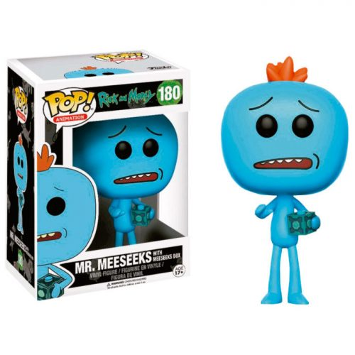 Funko POP Mr Meeseeks Rick & Morty Exclusivo 8