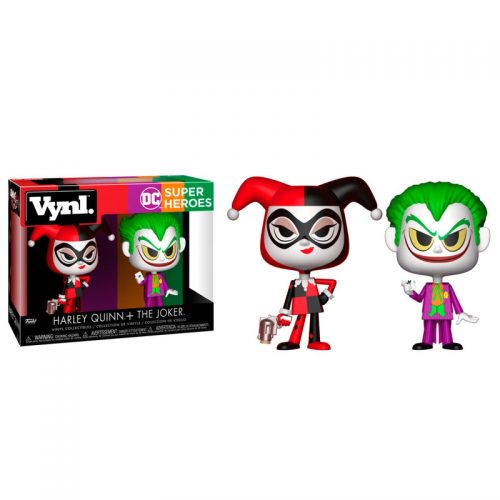 Figuras Vynl DC Comics Harley Quinn & The Joker 4