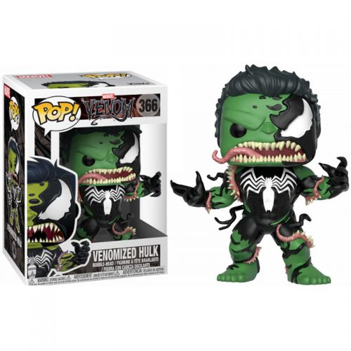 Funko POP Marvel Venom Venomized Hulk 8