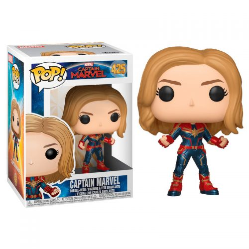 Funko POP Marvel Capitana Marvel 3