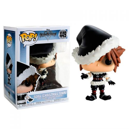 Funko POP Disney Kingdom Hearts Christmastown Sora Exclusivo 6