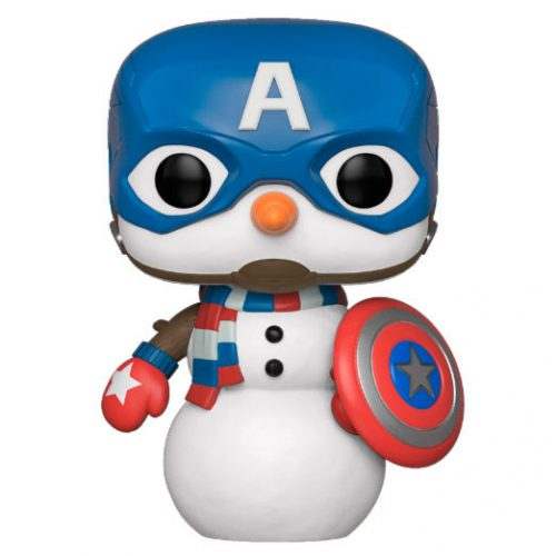 Funko POP Marvel Holiday Capitán América 6