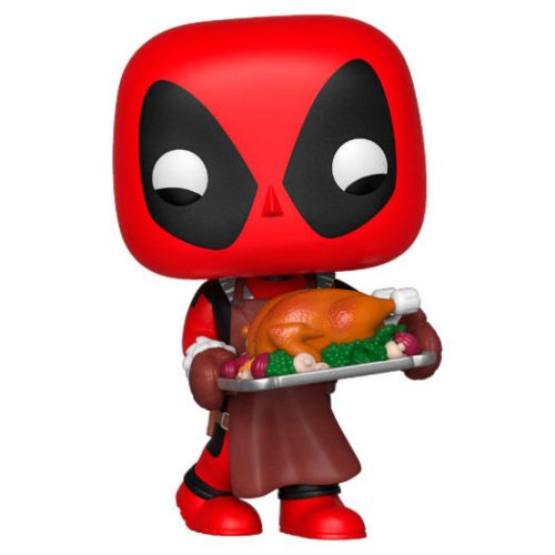 Funko POP Marvel X-Men Holiday Deadpool 9