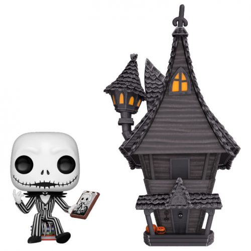 Funko POP Town Disney Pesadilla Antes de Navidad Jack with Jacks House 4