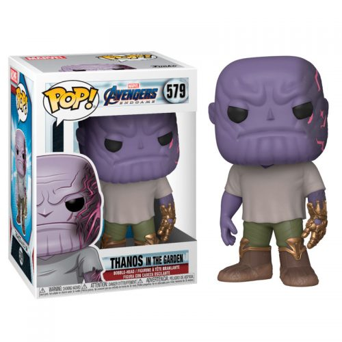 Funko POP Marvel Vengadores Endgame Casual Thanos with Gauntlet 12