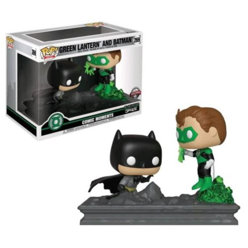 Funko POP Movie Moments Batman Y Green Lantern DC Comics Collection By Jim Lee Exclusivo 6