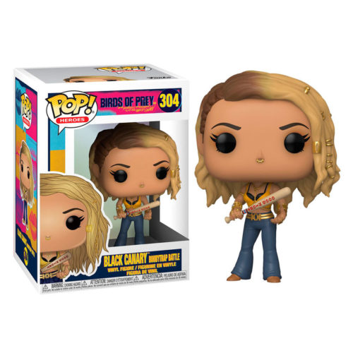 Funko POP Black Canary Boobytrap Battle DC Aves De Presa 11
