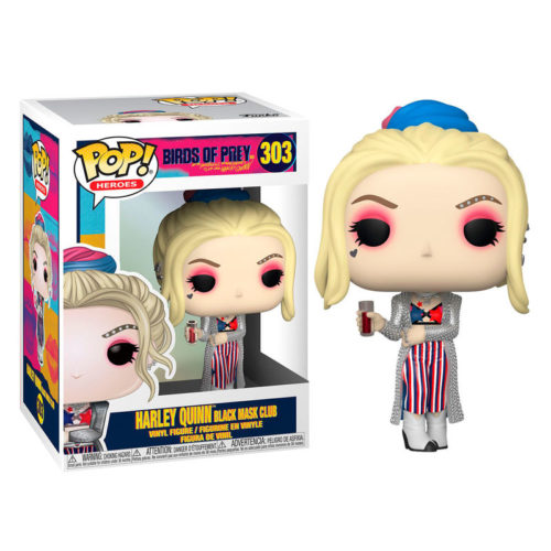 Funko POP Harley Quinn Black Mask Club DC Aves De Presa 3