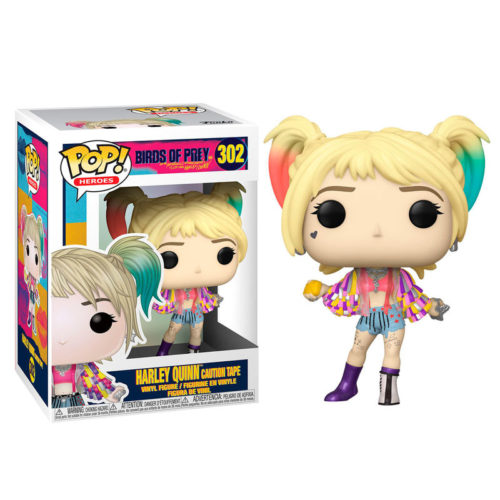 Funko POP Harley Quinn Caution Tape - DC Aves De Presa 5