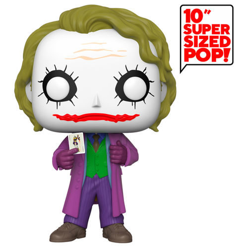 "Funko POP Joker Gigante DC Comics 25cm Super Sized 10"" 7"