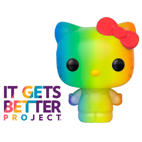 Funko POP Hello Kitty Arcoiris - Orgullo 2020 11