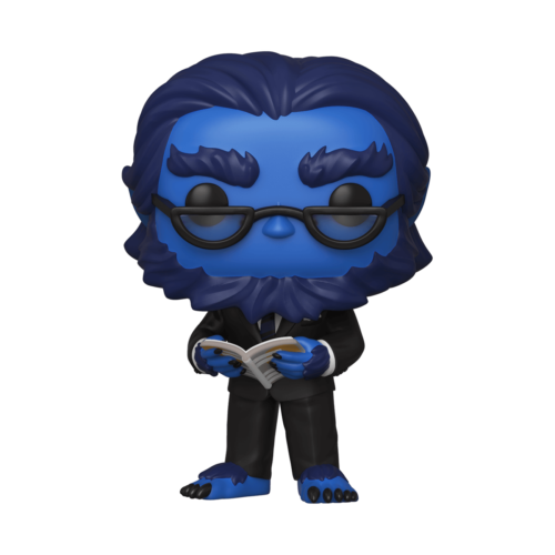 Funko POP Bestia (Beast) - Marvel X-Men 20 Aniversario 10