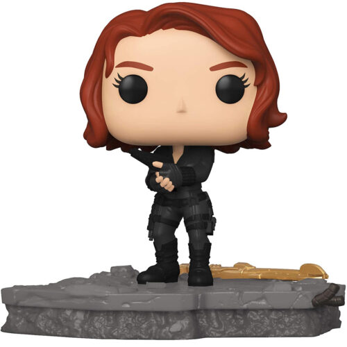 Funko Pop Deluxe Black Widow - Avengers Assemble 588 - Marvel Exclusivo 9