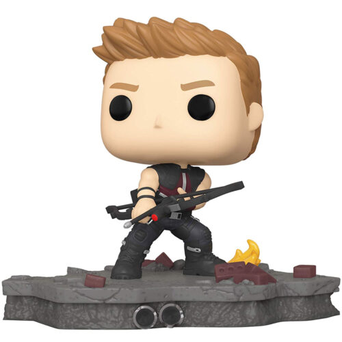 Funko Pop Deluxe Hawkeye - Avengers Assemble 586 - Marvel Exclusivo 8