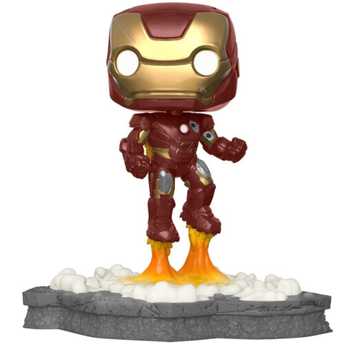 Funko Pop Deluxe Iron Man - Avengers Assemble 584 - Marvel Exclusivo 7