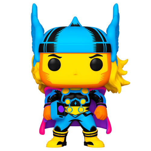 Funko POP Thor - Black Light - Marvel 10