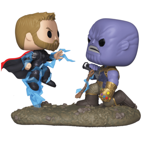 Funko POP Movie Moments Thor vs Thanos 707 - Vengadores Infinity War - Marvel 11