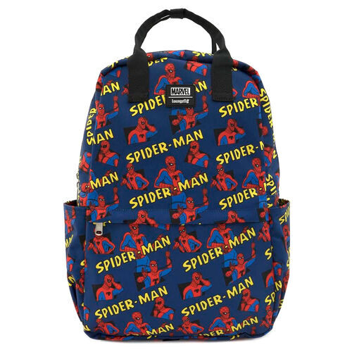 Mochila Loungefly Spiderman 44cm - Marvel 10