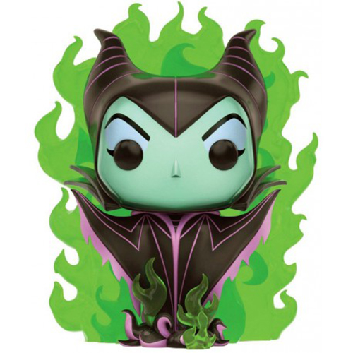 Funko POP Maléfica Llama Verde - Villanos Disney Exclusivo 12