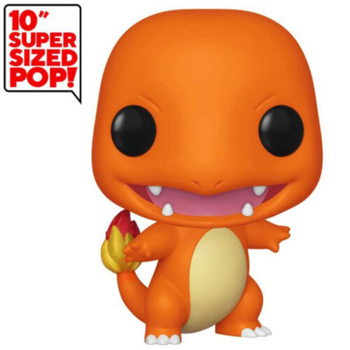 "Funko POP Charmander Gigante - Pokémon 25cm Super Sized 10"" 7"