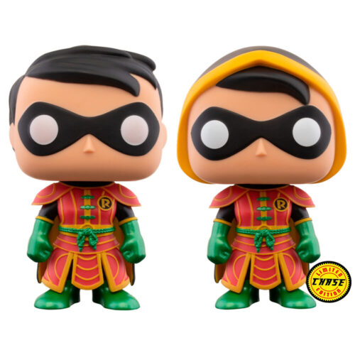 Funko POP Robin 377 - Imperial Palace - DC Comics (Posible Chase) 8