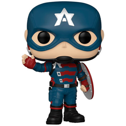 Funko POP John F. Walker 811 Capitán América - The Falcon and the Winter Soldier - Marvel 9