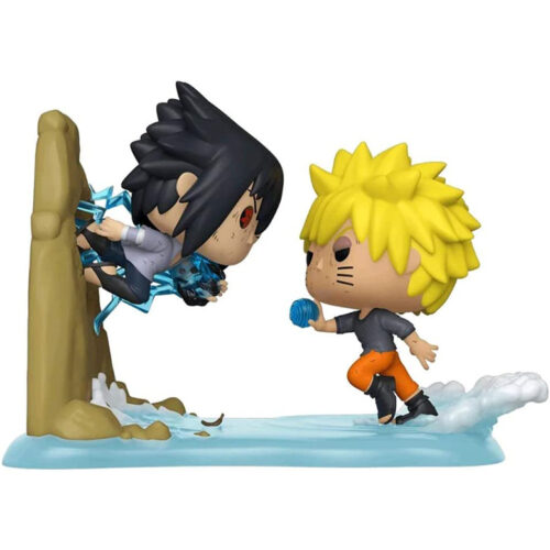 Funko POP Anime Moment Naruto VS Sasuke 732 - Naruto Exclusivo 5