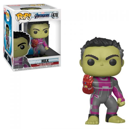 "Funko POP Marvel Avengers Endgame Hulk 15cm Super Sized 6"" 4"