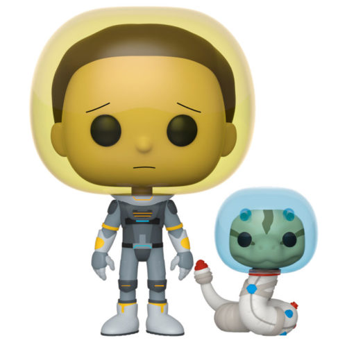 Funko POP Morty En Traje Espacial Con Serpiente Rick & Morty 13