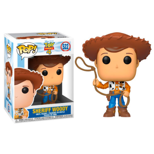 Funko POP Woody - Disney - Toy Story 4 9