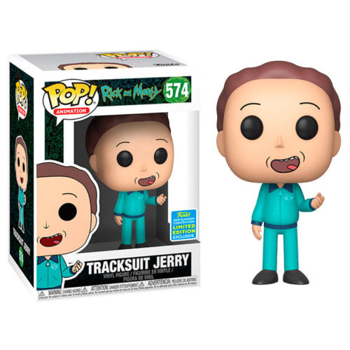 Funko POP Jerry En Chandal Rick & Morty Exclusivo SDCC 5