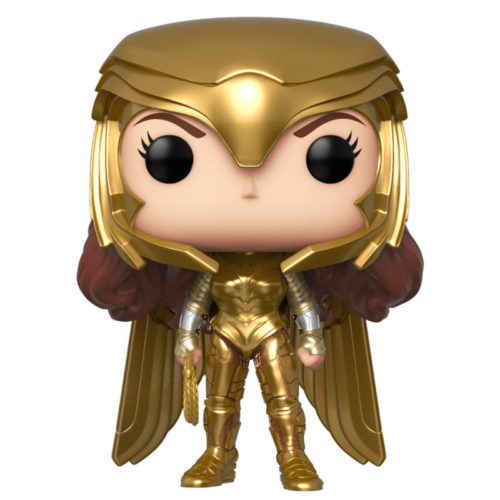 Funko POP Wonder Woman (Alas Doradas) - DC Wonder Woman 1984 3