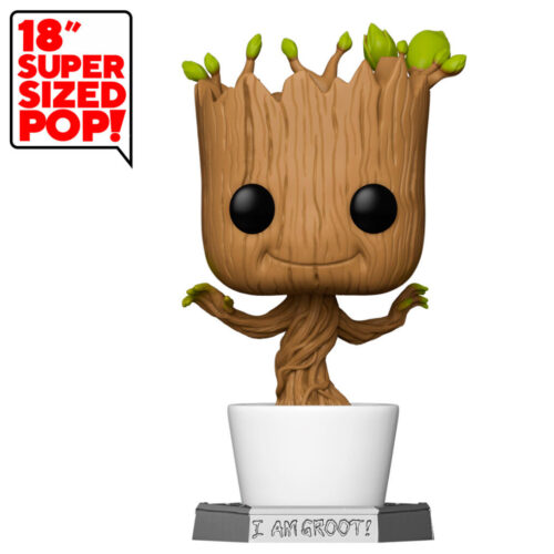 "Funko POP Dancing Groot - Guardianes De La Galaxia - Marvel - 45cm Super Sized 18"" 7"